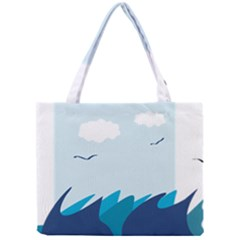 Sea Mini Tote Bag