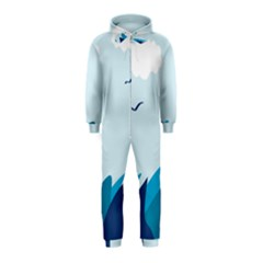 Sea Hooded Jumpsuit (kids)