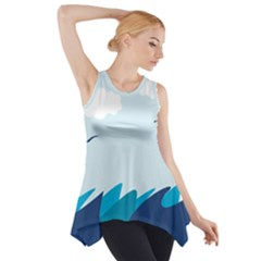 Sea Side Drop Tank Tunic