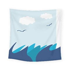 Sea Square Tapestry (small)