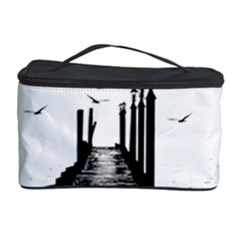 The Pier The Seagulls Sea Graphics Cosmetic Storage Case