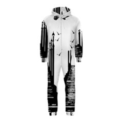 The Pier The Seagulls Sea Graphics Hooded Jumpsuit (kids)