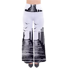 The Pier The Seagulls Sea Graphics Pants
