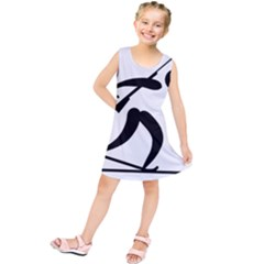 Biathlon Pictogram Kids  Tunic Dress