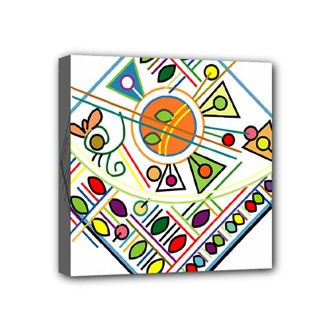 Vector Icon Symbol Sign Design Mini Canvas 4  X 4