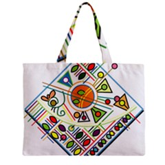 Vector Icon Symbol Sign Design Zipper Mini Tote Bag