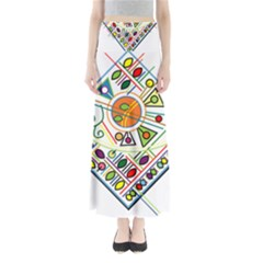 Vector Icon Symbol Sign Design Maxi Skirts
