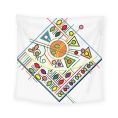 Vector Icon Symbol Sign Design Square Tapestry (small)