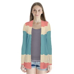 Circles Colorful Bull s Eye Cardigans