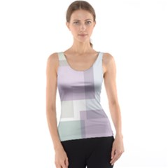 Abstract Background Pattern Design Tank Top