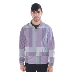 Abstract Background Pattern Design Wind Breaker (men)