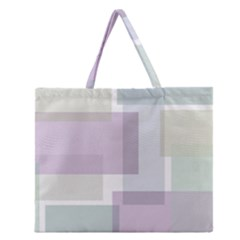 Abstract Background Pattern Design Zipper Large Tote Bag