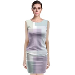 Abstract Background Pattern Design Classic Sleeveless Midi Dress