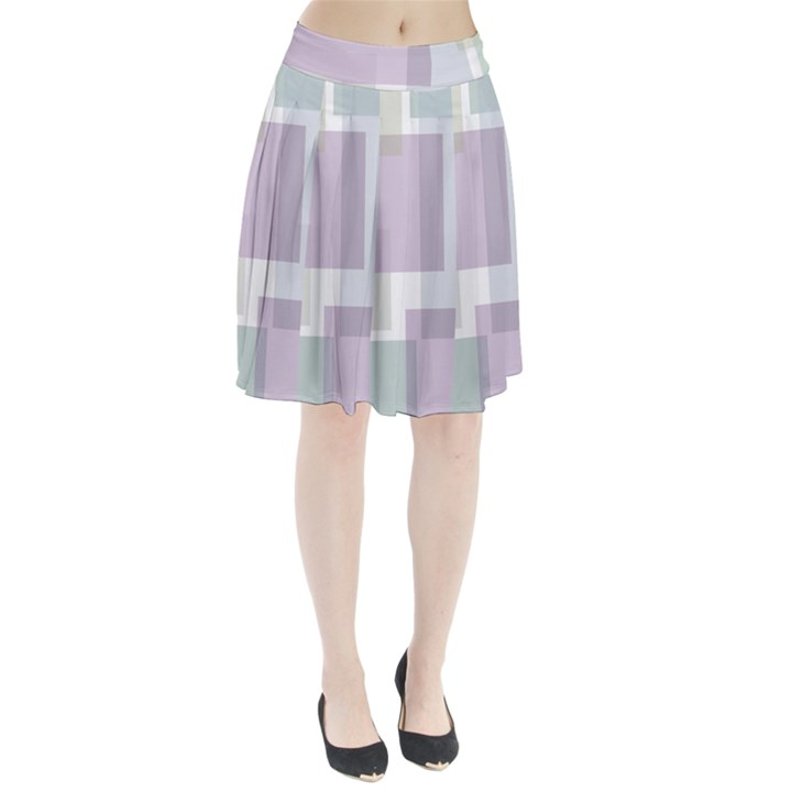 Abstract Background Pattern Design Pleated Skirt