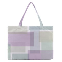 Abstract Background Pattern Design Medium Zipper Tote Bag
