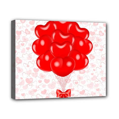 Abstract Background Balloon Canvas 10  X 8