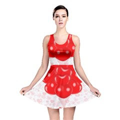 Abstract Background Balloon Reversible Skater Dress