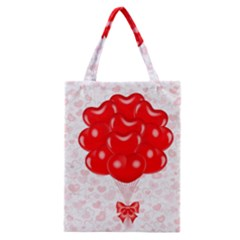 Abstract Background Balloon Classic Tote Bag