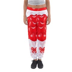 Abstract Background Balloon Women s Jogger Sweatpants