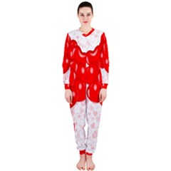 Abstract Background Balloon Onepiece Jumpsuit (ladies)