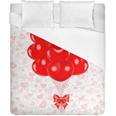 Abstract Background Balloon Duvet Cover (california King Size)