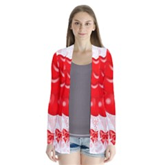 Abstract Background Balloon Cardigans