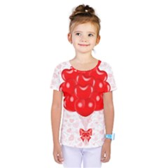 Abstract Background Balloon Kids  One Piece Tee