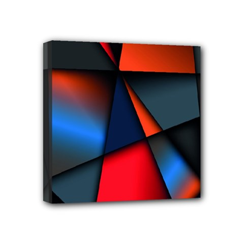 3d And Abstract Mini Canvas 4  x 4