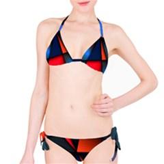 3d And Abstract Bikini Set