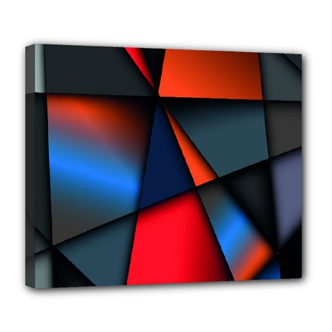 3d And Abstract Deluxe Canvas 24  X 20