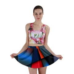 3d And Abstract Mini Skirt