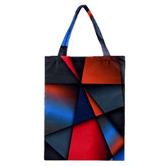 3d And Abstract Classic Tote Bag