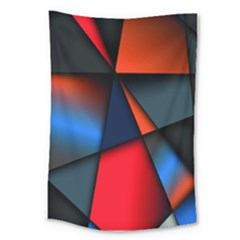 3d And Abstract Large Tapestry