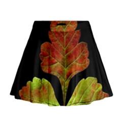 Autumn Beauty Mini Flare Skirt