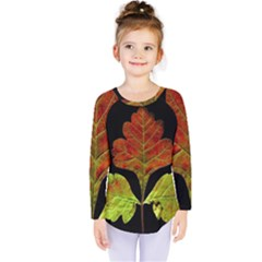 Autumn Beauty Kids  Long Sleeve Tee