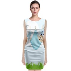 Baby Boy Clothes Line Classic Sleeveless Midi Dress
