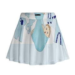 Baby Boy Clothes Line Mini Flare Skirt