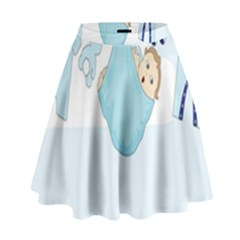 Baby Boy Clothes Line High Waist Skirt