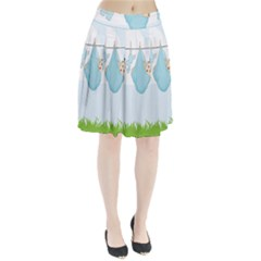 Baby Boy Clothes Line Pleated Skirt