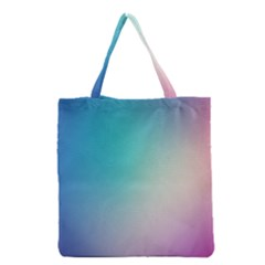 Background Blurry Template Pattern Grocery Tote Bag