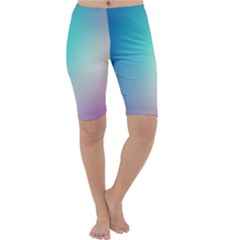 Background Blurry Template Pattern Cropped Leggings