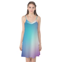 Background Blurry Template Pattern Camis Nightgown