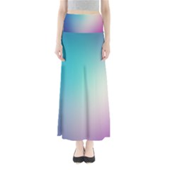 Background Blurry Template Pattern Maxi Skirts