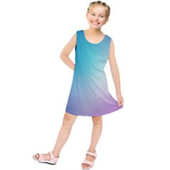 Background Blurry Template Pattern Kids  Tunic Dress