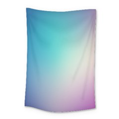 Background Blurry Template Pattern Small Tapestry