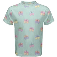 Butterfly Pastel Insect Green Men s Cotton Tee