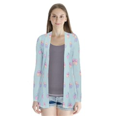 Butterfly Pastel Insect Green Cardigans