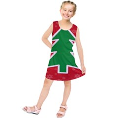 Christmas Tree Kids  Tunic Dress