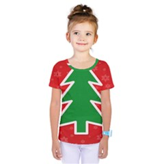 Christmas Tree Kids  One Piece Tee