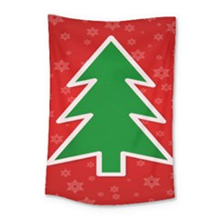 Christmas Tree Small Tapestry